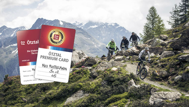 Oetztal Card - all highlights of the valley included